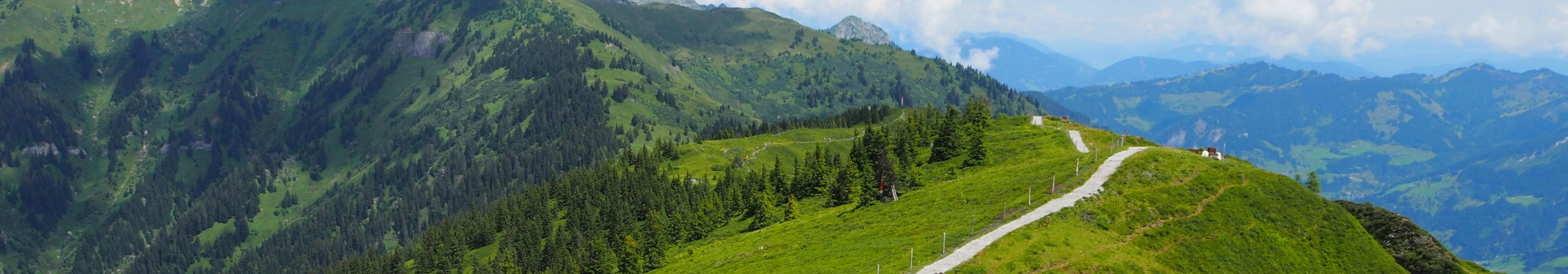 Über Berg und Tal
